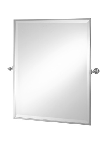 Rectangular Framed Tilt Mirror 2-112 Cut Out