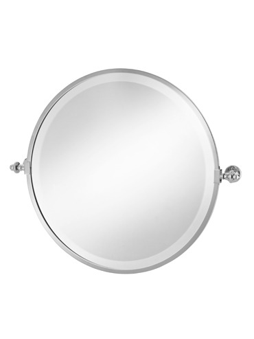 Round Framed Tilt Mirror 2-111 Cut Out