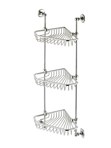Three Tier Corner Basket 1-035 Cut Out