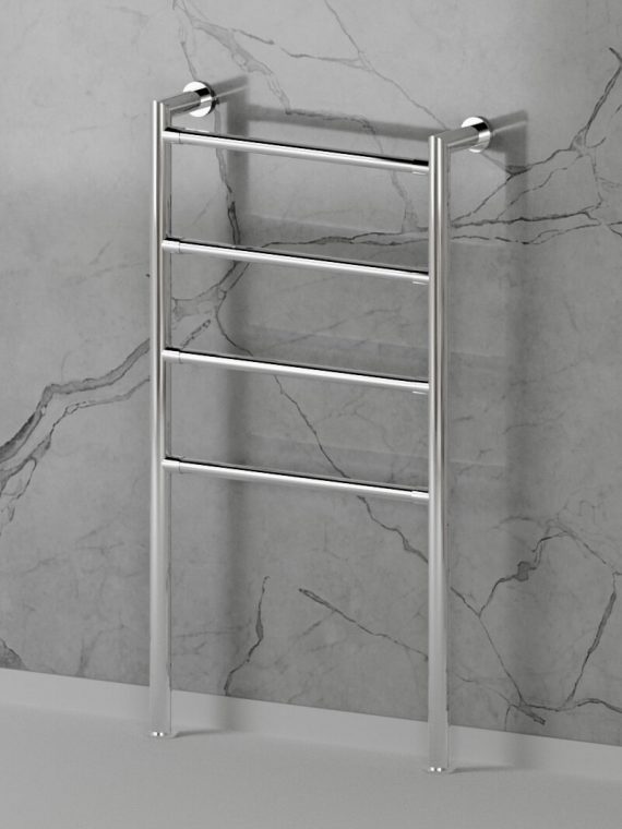 Moderna-Wall-Floor-Towel-Rail