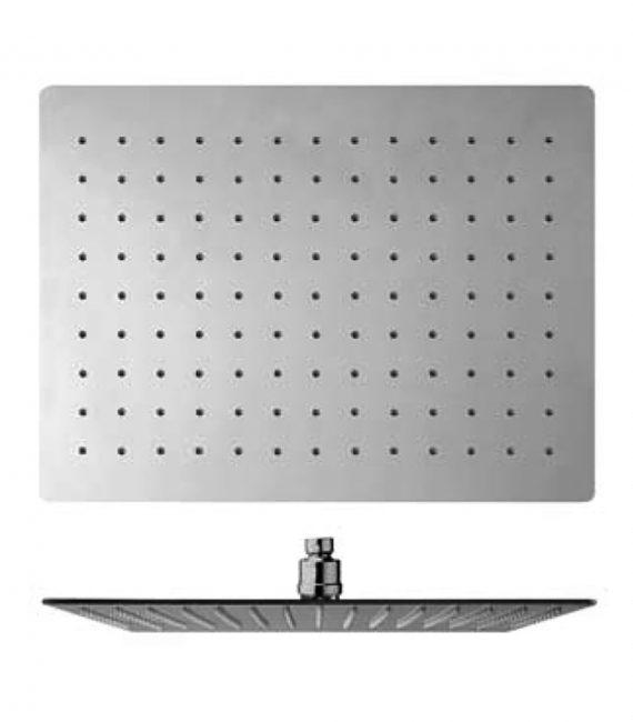 FV126.06.1.0. 16 x 12 rectangular rain head (40 x 30 cm)