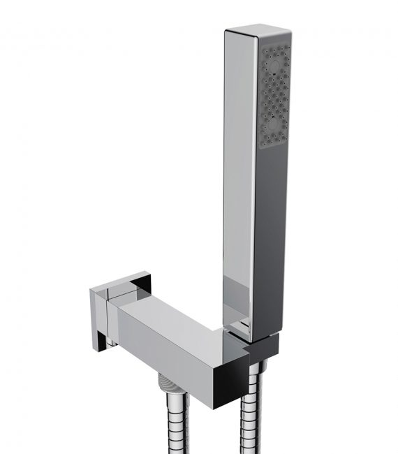 FV131:J4. Hand shower assembly. All in one swivel holder and water supply