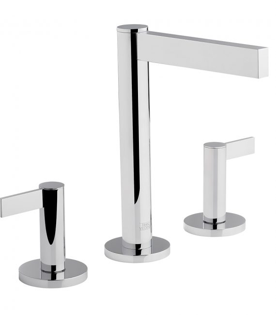 FV201:J2L. Widespread lavatory faucet with pop-up 1