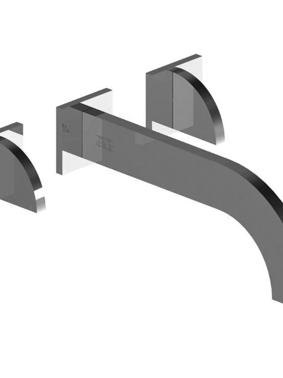 FV203:J3D.0. Wall-mounted lavatory faucet, trim only 2