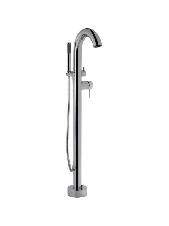 FV215:59.0. Freestanding floor mounted tub faucet 1