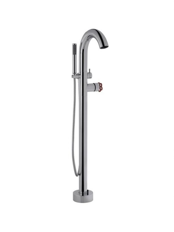 FV215:J1.0. Freestanding floor mounted tub faucet