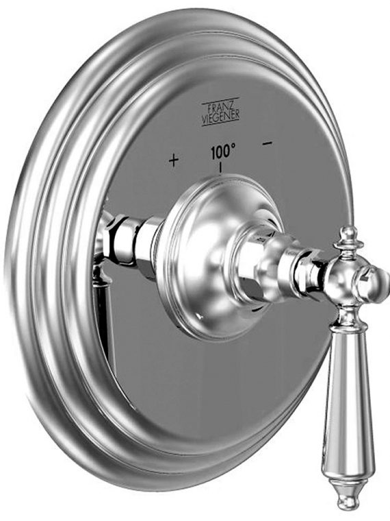 FV217:58L.0. Thermostatic wall valve – trim only 1