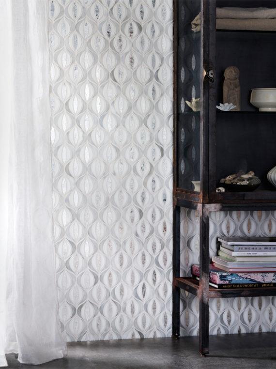DE89-Transcend-Lotus-white-grey-silver-antique-mirror-metallic-mosaic-blend-11-AA-M
